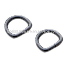 Fashion High Quality Metal Gunmetal D Ring