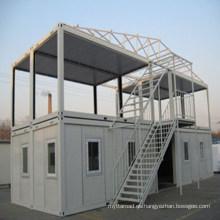 Casa prefabricada de acero ligero con ahorro de energía