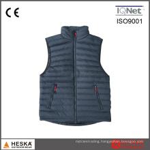 Mens Lightweight Down Padded Sleeveless Puffer Winter Vest
