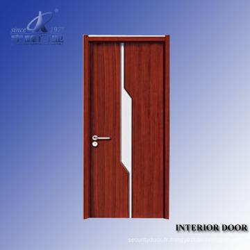 Porte de peinture de placage en bois massif de design d'intérieur
