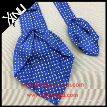 Wholesale Men Neck Ties with Custom Print Silk Paisley 7 Folded Neckties