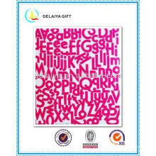 ПВХ/Ева блеск наклейка буквы алфавита