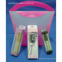 Caja de plástico barata para el peine (HH3911)