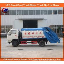 Dongfeng 4 X 2 Mini Ordures Compacteur Camion Compactor