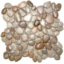 Beliebte polierten Kieselstein Fliesen für Heimtextilien