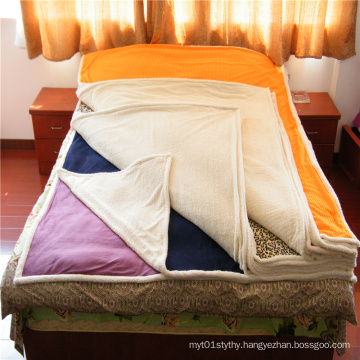 Velveteen And Super Soft  Composite Blanket