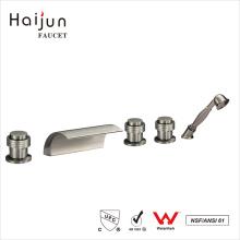 Haijun Cheap Modern cUpc Triple Handle Bathroom Thermostatic Shower Faucets