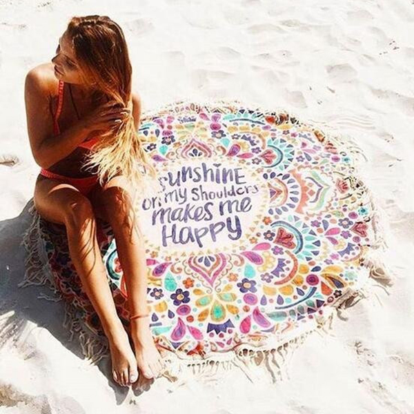 private label beach towel