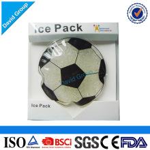 Paquet de glace réutilisable de gel de gel et emballage de glace de gel fait sur commande
