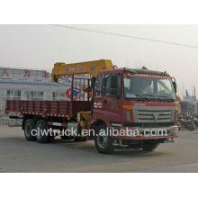 Heißer Verkauf Foton 6x4 LKW montiert Kran 9-12 Tonne