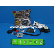 Alloy Musical Flashing Light Top Top Toy (813702)