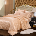 neues Design Luxus Jacquard Woven Silk Bettwäsche-Set