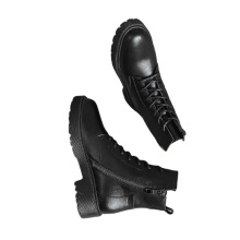 New designer famous brands women motorcycles fall boots soft pu leather solid color flat casual shoes for ladies