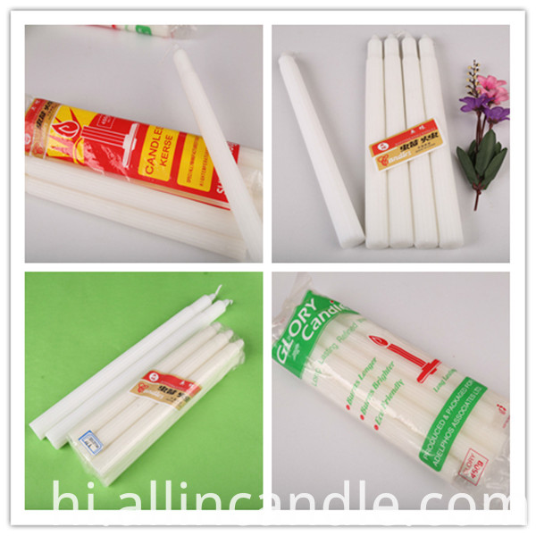 bulk fluted candle