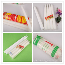 Household Church Flute Candle with Ridge
