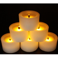 비 Flameeless 촛불 Tealight