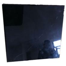 Schwarzes rückseitig bemaltes Glas für Duschwände