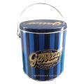 Tubby Metal Popcorn Tin Box & Tin Bucket Series Seau Étain