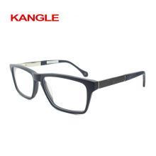 Nouvel acétate avec des lunettes en acétate de carbone en fibre de carbone, des montures optiques en acétate de nouvelle forme 2018