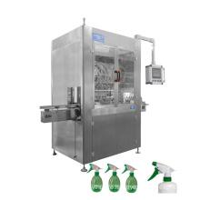 Fast shipment automatic hand soap detergent sanitizer plastic bottle filling machine