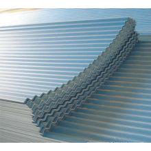precio de hojas de acero cubierta metálica aluminio por hoja