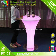 Wedding Decoration /LED Bar Table / LED PE Bar Table, LED Light Bar Table, LED Table Lamp