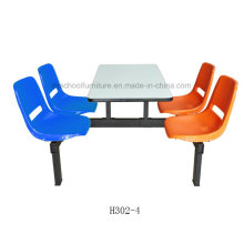 Durable Dining Room Furniture Fast Food Furniure Canteen Furniture (H302-4)
