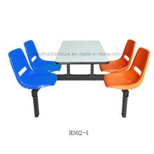 Прочная Мебель для Столовой Фаст фуд Мебель Столовой (H302-4)