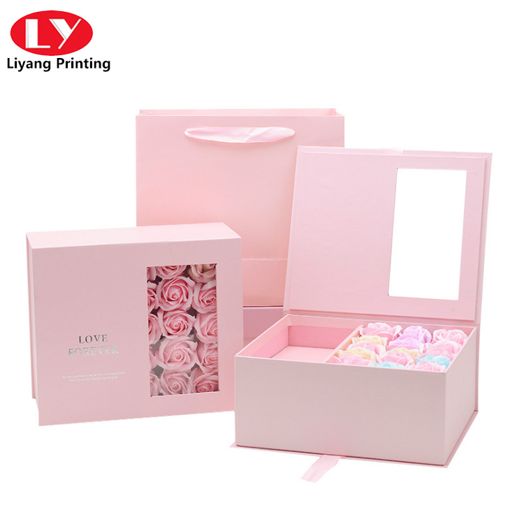Valentine S Day Flower Box2
