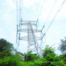 220kv Angled Iron Power Transmission Tower