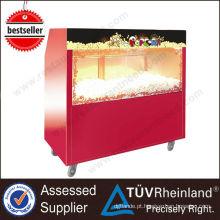 China Supplier Restaurant Equipment Hot Popped aquecedor de pipoca