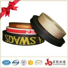 Correa elástica cinta de cinta de correas de tejido elástico personalizado banda de cinta para la ropa interior