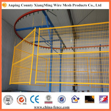 PVC Painted Welded Temporary Wire Mesh Metal Fencing