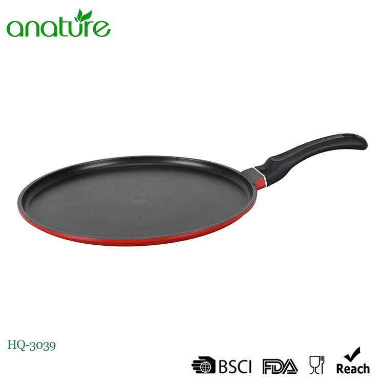 High Quality 25cm Die Casting Pizza Pan