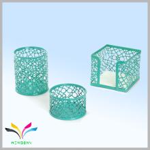 Новый офис канцелярские изделия из металлической проволоки сетка зеленый комплект подарка канцелярских