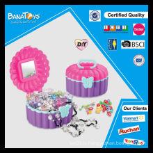 Набор ювелирных изделий с горячим подарком для продажи с коробкой дисплея pdq для детских игрушек-шариков