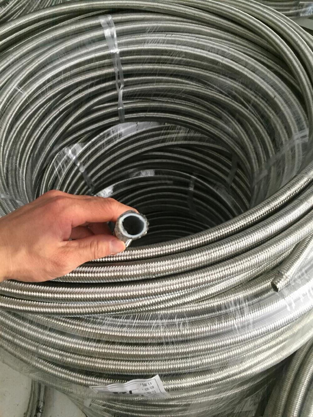 SS304 Geflecht PTFE Schlauch Teflonschlauch China Hersteller