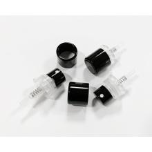 15mm bottle neck black crimpless perfume atomizer pump