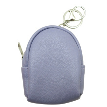 SOLID COLORED COIN PURSE KEYRING-0