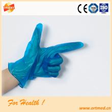 machine production transparent pvc  work gloves