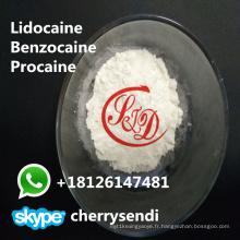 Les drogues anesthésiques locales d'antipyrine Painkiller d'antipyrine de poudre de benzocaine CAS 94-09-7