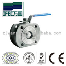 Vanne à bille mince en acier inoxydable hygiénique en acier inoxydable (IFEC-BV100015)