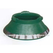 ISO9001:2008 cone crusher concave and mantle