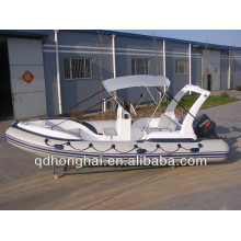 pontoon infatable boat RIB580 rubber boat with CE
