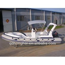 pontão infatable barco RIB580 de borracha com CE
