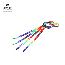 Custom Tube Shoe Lace Flat Colorful Sublimation Shoelace
