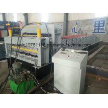 Galvanisiertes Stahlüberdachungs-Blatt und Wand-Blatt-Rolle, die Maschine bildet
