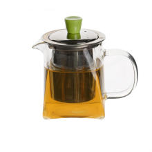 Glass Teapot Loose Tea Leaf Maker Stove Safe