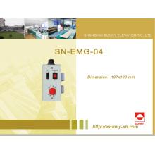 Cuadro de mantenimiento del pozo para el elevador (SN-EMG-04)