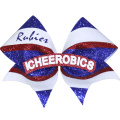 Glitter Cheerleader Haarschleife